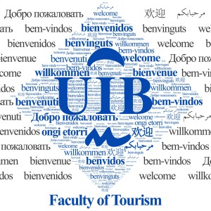 Facultat de Turisme - Infografia Benvinguts